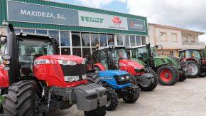 Tractores agrícolas y tractores fruteros Masey Maxideza